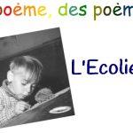 Poème – L'Ecolier de Raymond Queneau