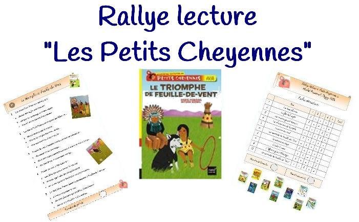 "Super Rallye lecture ""Petits Cheyennes"" UU08"