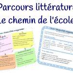 Parcours littéraire : le chemin de l'école, un voyage initiatique