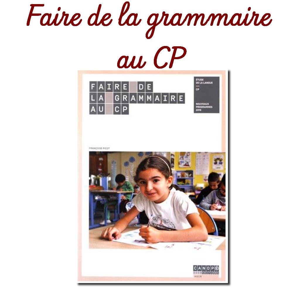 La Grammaire Au Cp