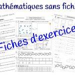 Sans fichier en mathématiques : fiches d'exercices différenciées
