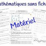 Mathématiques sans fichier : le matériel