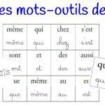 Loto des mots outils