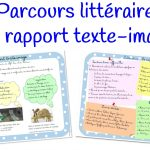 Parcours littéraire : le rapport texte – image