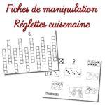 Fiches de manipulation – réglettes Cuisenaire