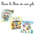 """Parcours lecture avec Nono dans le """"Bois de Coin joli"""""""